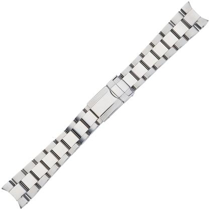 Oyster Uhrenarmband 'Typ Rolex' Rostfreier Stahl 20mm