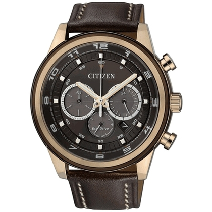 Citizen Eco-Drive Chronograph CA4037-01W Uhrenarmband 22mm