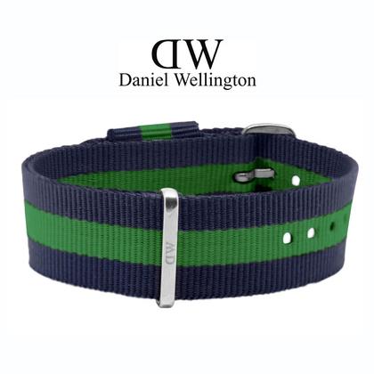 Daniel Wellington 20mm Classic Warwick NATO Uhrenarmband mit Stahlschliesse