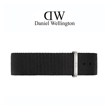 Daniel Wellington 20mm Classic Cornwall NATO Uhrenarmband mit Stahlschliesse
