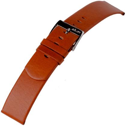 a.b.art Ersatzuhrenarmband D DL E EL ES I OS Serie Cognac 12, 16, 21, 26 und 30 mm