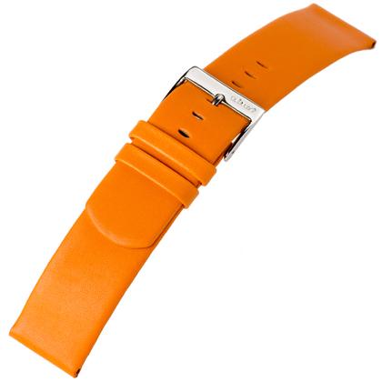 a.b.art Ersatzuhrenarmband D DL E ES Serie Orange 21 und 26 mm
